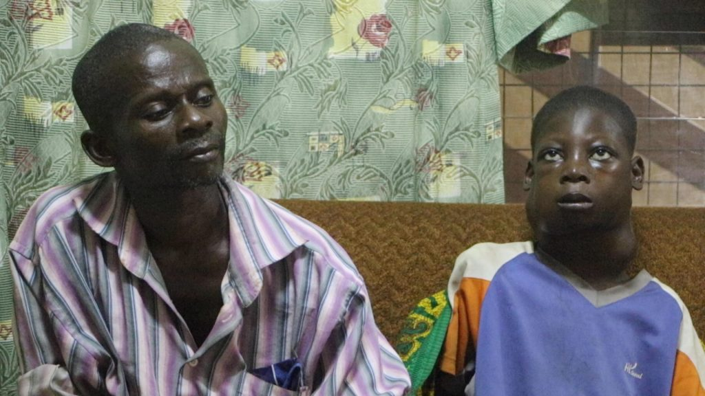 13year old Kwadwo Abadu who hails from Jukwa in the Central Region and suffers from cancer has passed away after Crime Check Foundation CCF came to his aid.