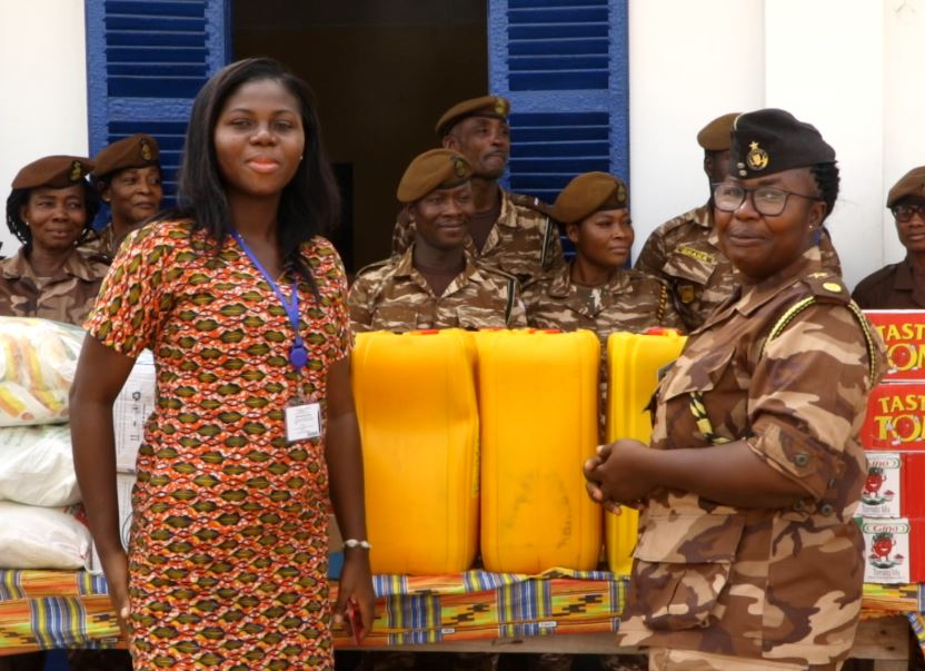 Crime Check Foundation, CCF in collaboration with its donors has put smiles on the faces of inmates at Ghana's Senior Correctional Centre SCC and the Nsawam Female Prison by donating various items to them.