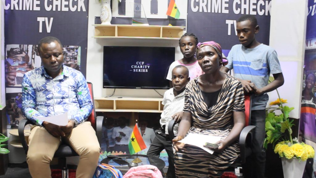 Hopes of becoming an artist has come alive for Bernard as Crime Check Foundation supports him and his siblings through school.