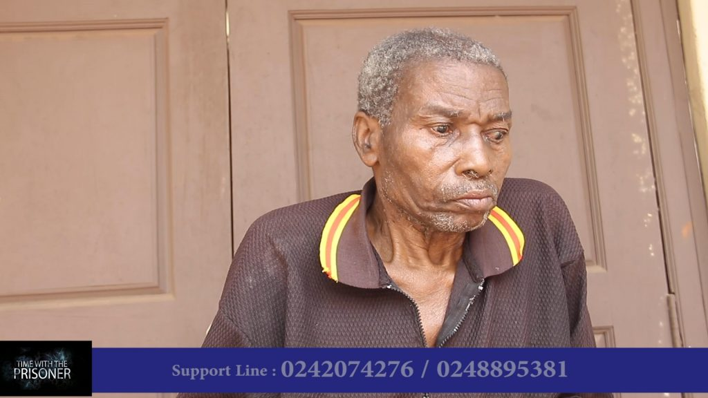 Crime Check Foundation CCF through its Health Check Project has supported 77year old diabetic patient, Humphrey Dagadu to receive proper medical care.
