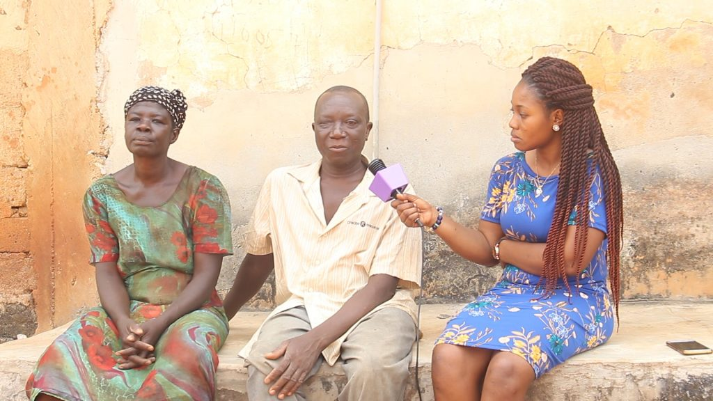Abraham Nkrumah cries for public assistance after spending all his finances on his two disabled children.