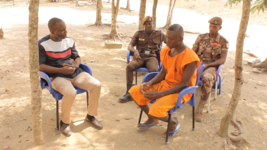 Crime Check Foundation CCF, a correctional focused NGO, has facilitated the release of 31 year old Richard Ofosu Odame at the Awutu Camp Prison.