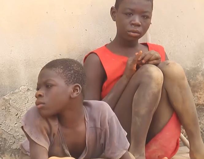 THE TWO DISABLED SONS OF ABRAHAM AND AFIA BRAGO